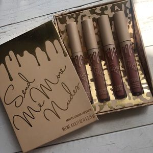 kylie cosmetics send me more nudes matte lip set